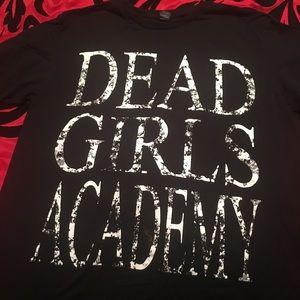 Dead girls academy shirt